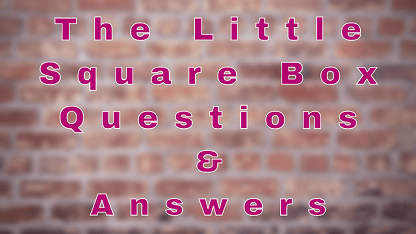 The Little Square Box Questions & Answers