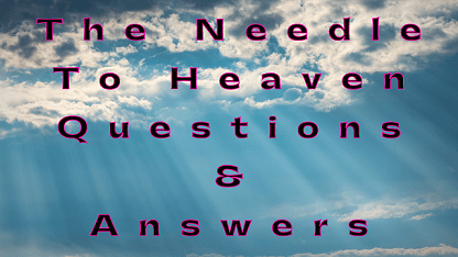 The Needle To Heaven Questions & Answers