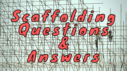 Scaffolding Questions & Answers