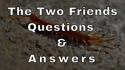 The Two Friends Questions & Answers