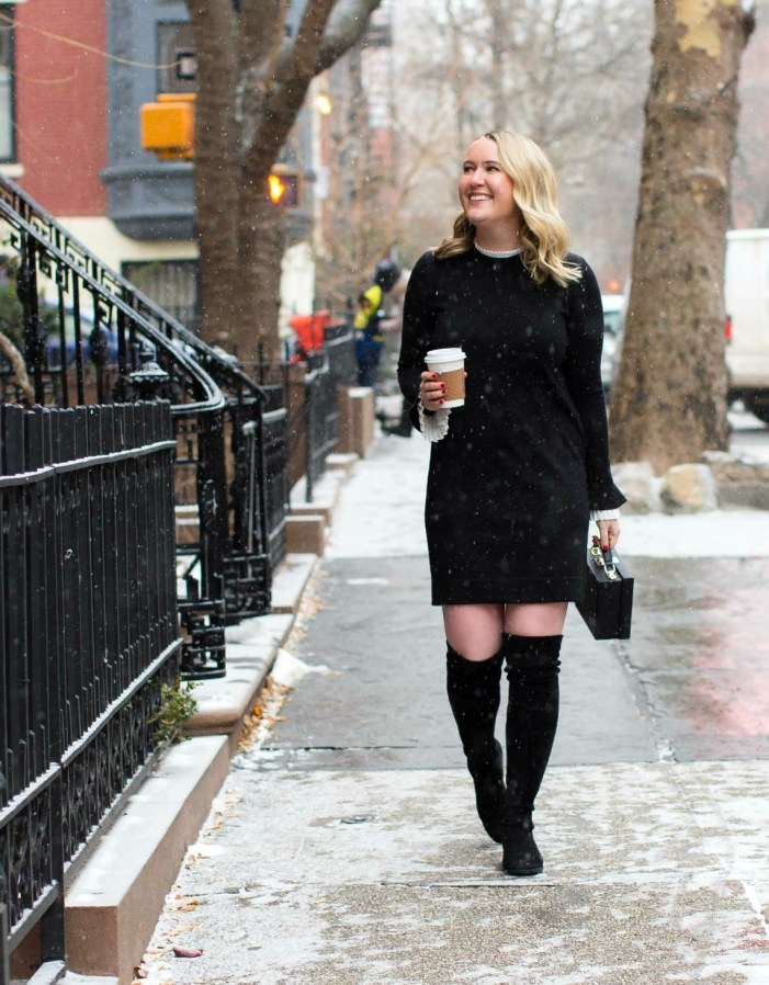 Preppy Sweater Dress on wit & whimsy