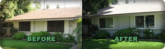 new windows before and after california