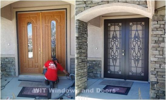 Double Titan Security Doors
