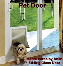 PET DOOR IN SLIDING GLASS DOOR BY ANLIN