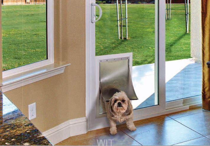 In Glass Pet Door Doggie Door