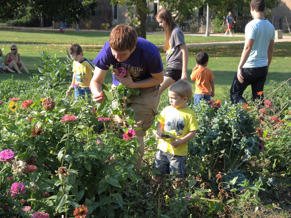 Teaching Garden Benefits Wiu Students Local Preschoolers