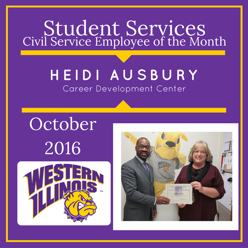 Employee of the Month Awards  Vice President for Student