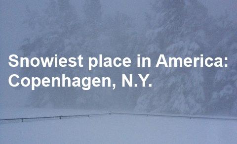 Tiny northern NY village tops snowfall charts with 21 feet