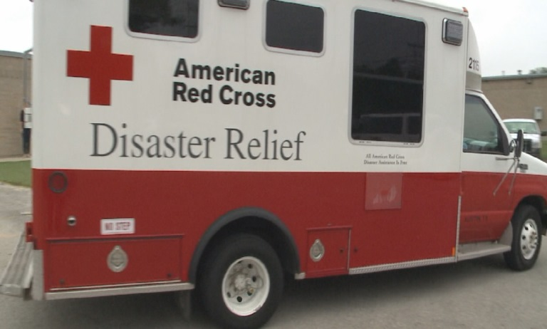 The American Red Cross serving Central Texas opened a shelter to flood victims at Parker Lane United Methodist Church Sunday, May 29, 2016._453307