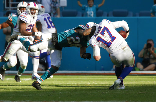 Bills Dolphins Football_1543967922754