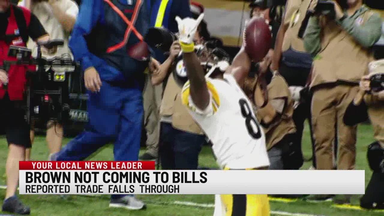 Brown not coming to Bills