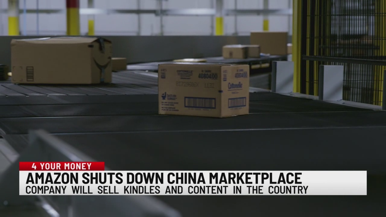 Amazon shuts down China marketplace