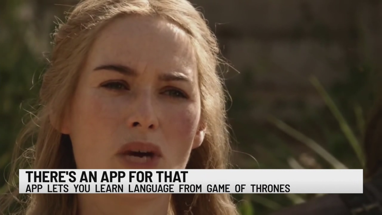 App to learn Game of Thrones language