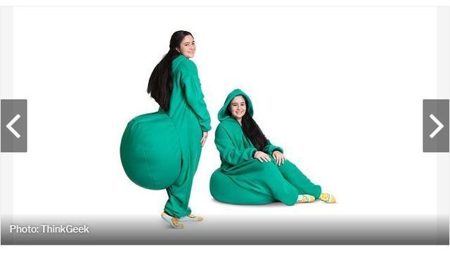 Astonishing You Can Now Buy A Bean Bag Onesie So You Can Sit Wherever You Go Ibusinesslaw Wood Chair Design Ideas Ibusinesslaworg