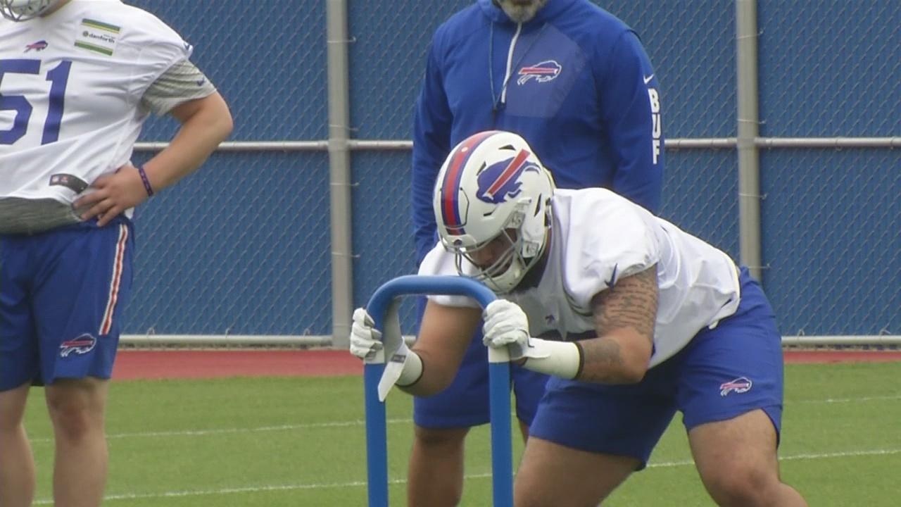 Bills begin rookie minicamp