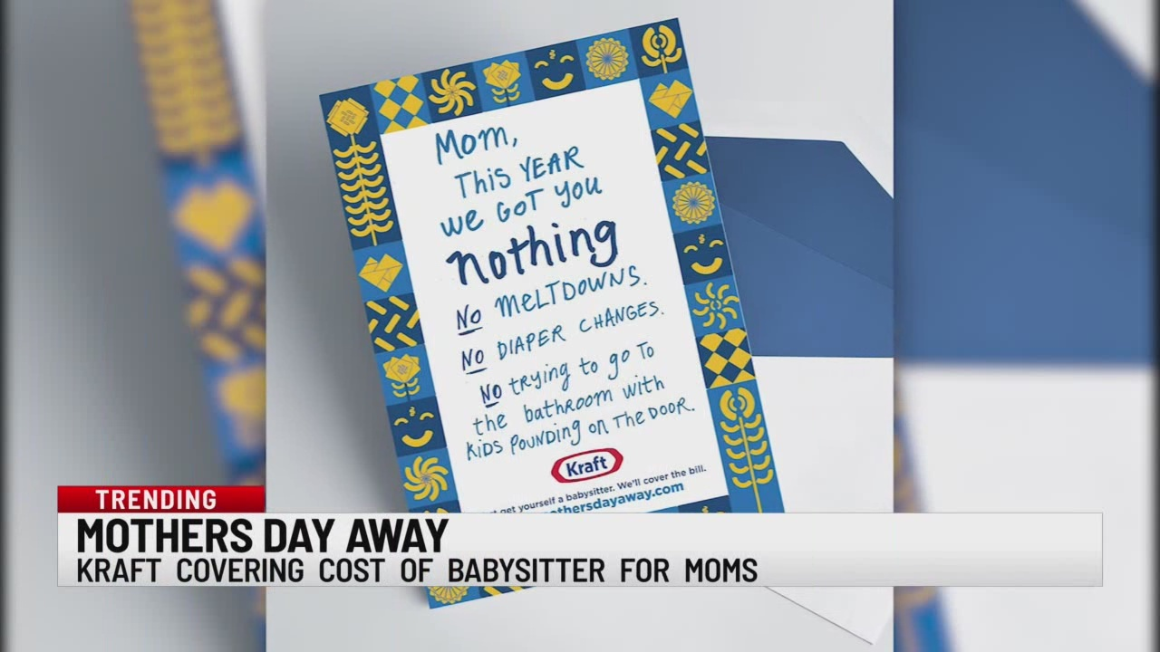 Kraft covering cost of babysitter
