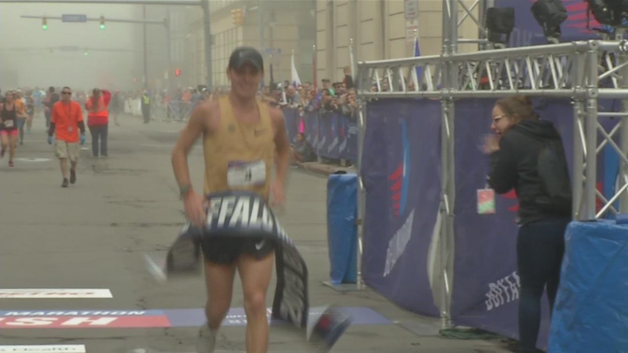 Texas resident wins Buffalo Marathon