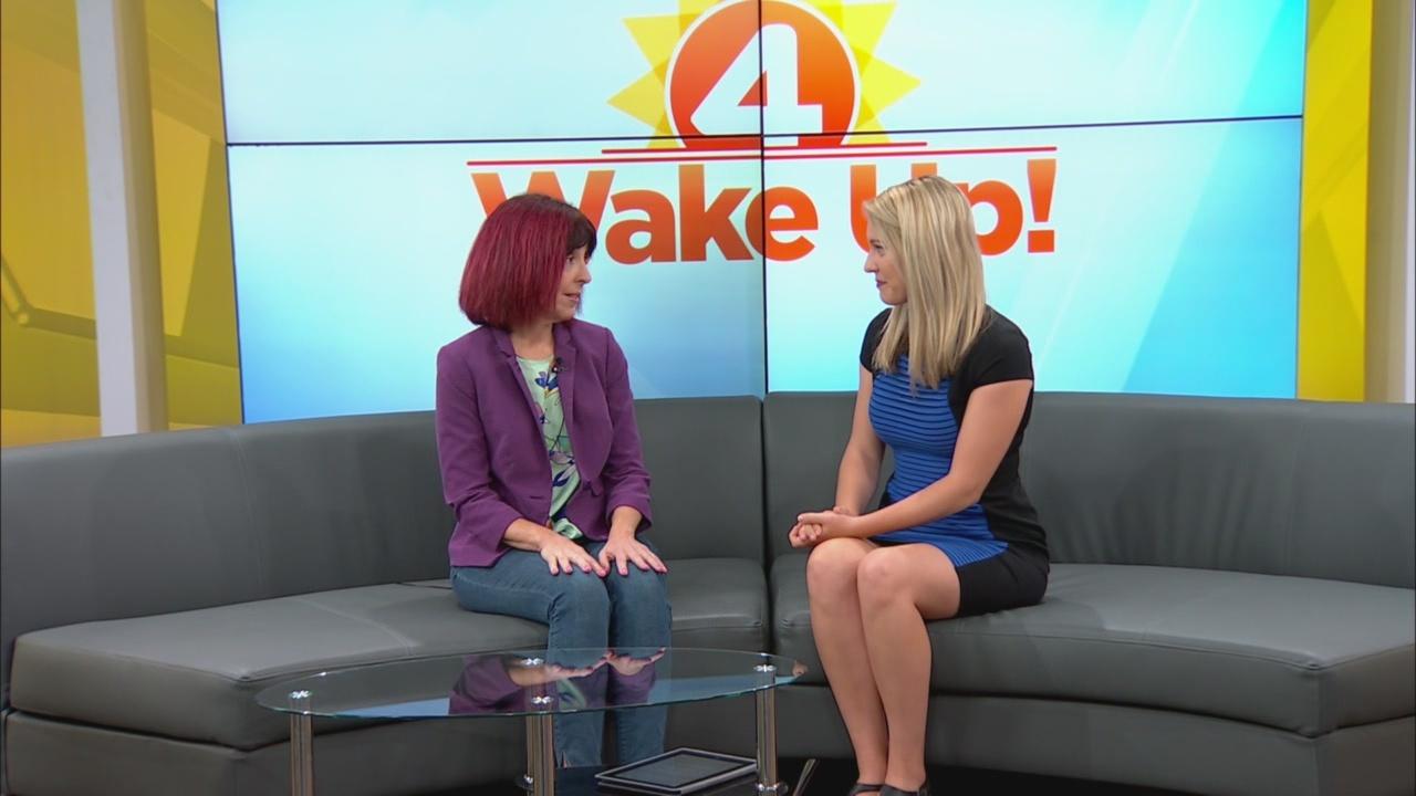 Rita Harrington-Lipmann comes to Wake Up!