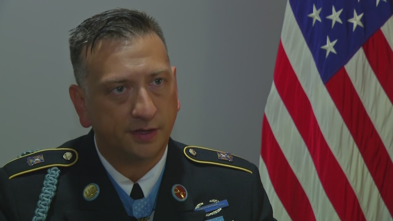 Special ceremony held at the Pentagon for Medal of Honor recipient David Bellavia