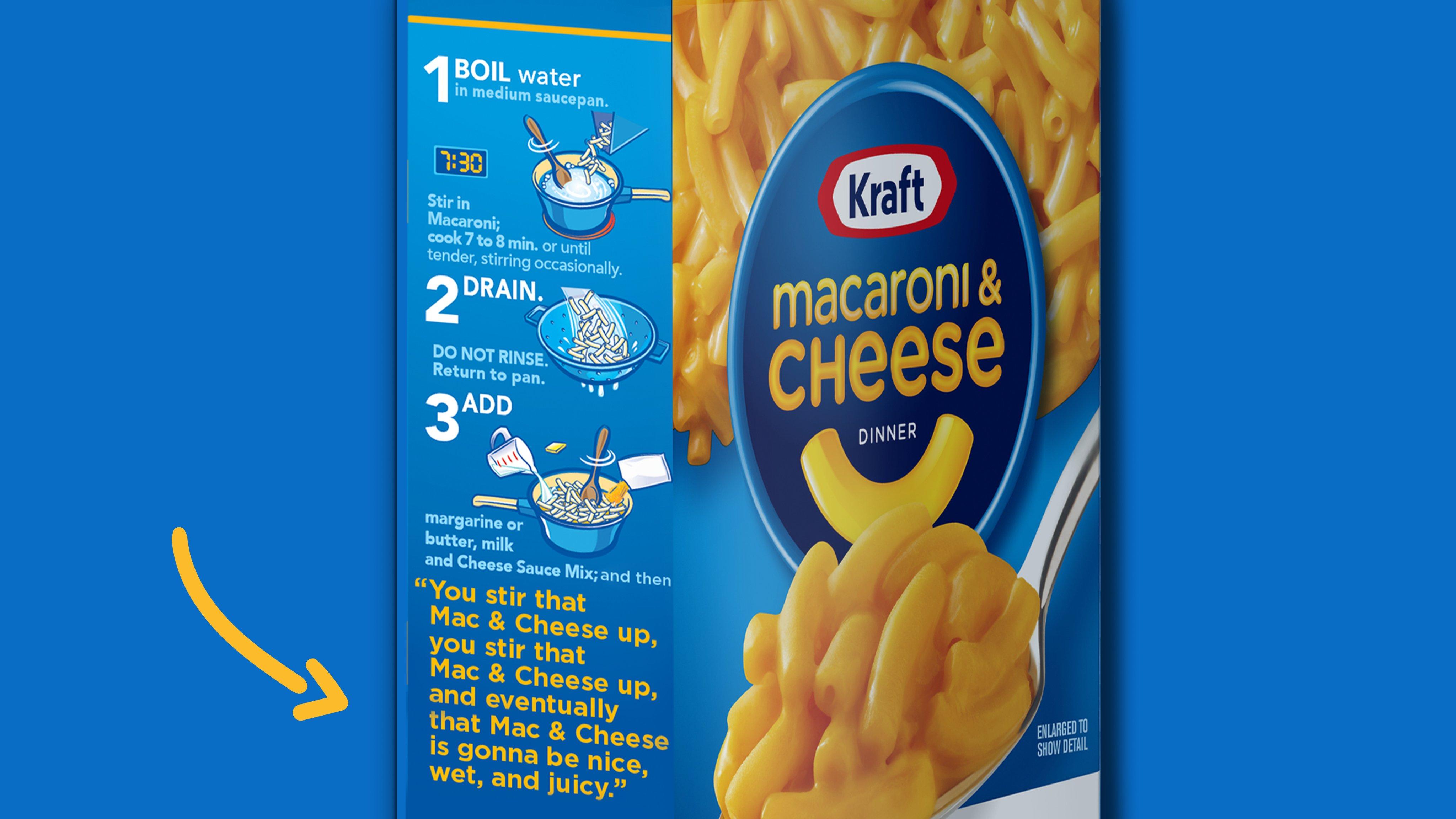 kraft updates mac cheese cooking