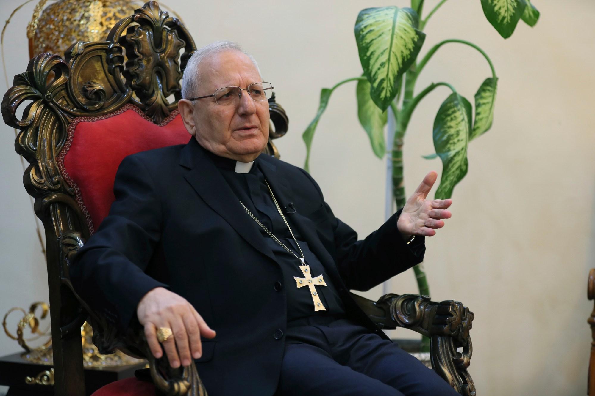 Cardinal Louis Raphael Sako
