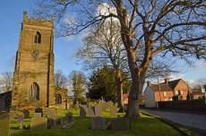 Tower and churchyard of Saint Giles, Cropwell Bishop