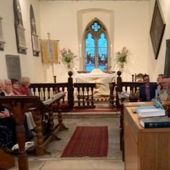 Ascension Day choir