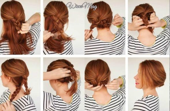 easy-bun-updos