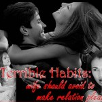 Terrible habits: Good wife should avoid making pleasant relation