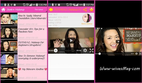 Makeup Tutorials app