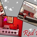 Red interior design: A sensational touch to your home