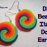 DIY Beautiful Earrings: How to work with Italian dough?