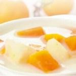 Pear, Papaya Milk soup