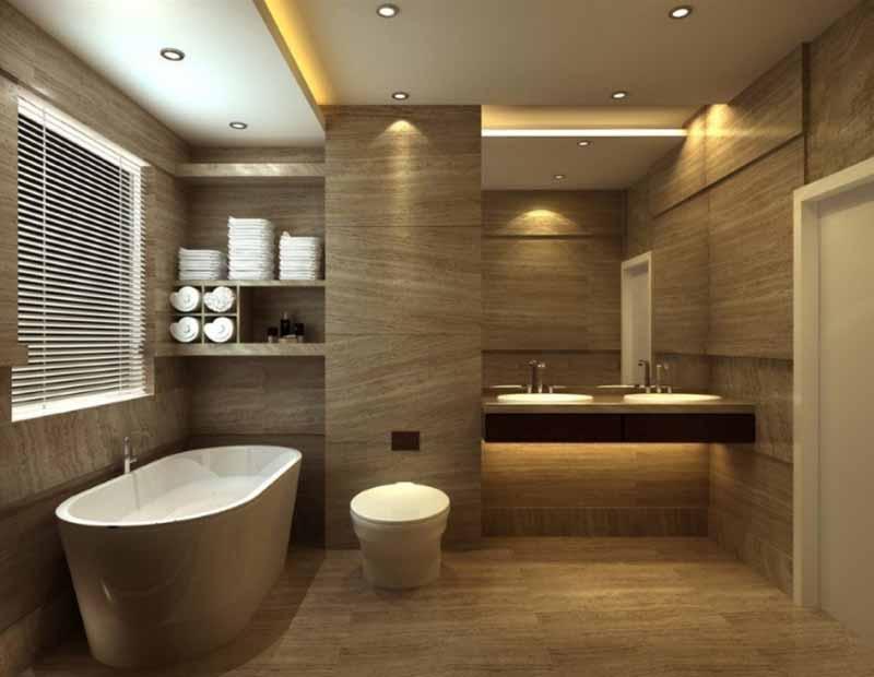 Small-rectangular-bathroom-design-ideas