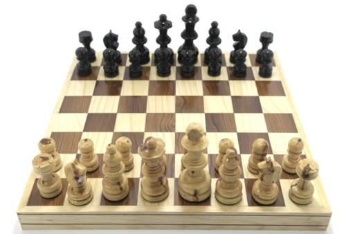 Ajedrez de madera 35 cm # 3 – Wiwi juegos mayoreo