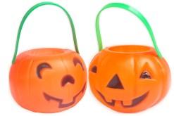 Calabaza Feliz chica 13.5 cm diámetro - Halloween de mayoreo