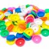 Corcholatas Matemáticas de ensarte 120 piezas - Wiwi Didácticos