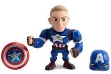 Captain America 6 pulgadas-Jada Die Cast Metals Marvel Disney