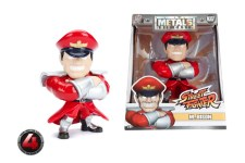 "Master Bison Jada Die Cast Metals 4 ""- Street Fighter Capcom"