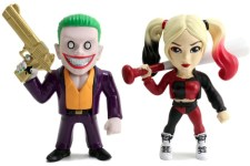 Metal Suicide Squad Joker Boss y Harley Quinn