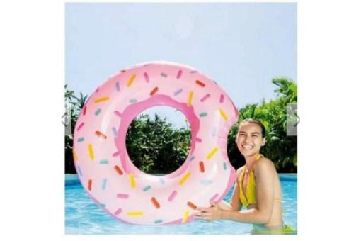 Salvavidas Dona Fresa flotador inflable - Wiwi Inflables de Mayoreo