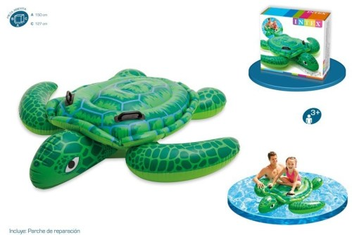 Tortuga chica Montable acuático inflable - Wiwi Inflables de Mayoreo