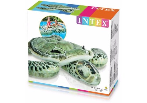Tortuga Real Montable acuático inflable - Wiwi Inflables de Mayoreo