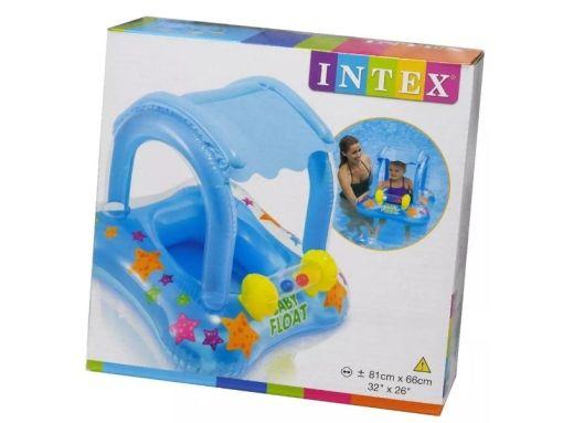 Salvavidas Andadera acuática para bebes con sombrilla Intex 56581