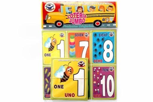 Loterías Didácticas con Cartas Jumbo - Wiwi Loterías de Mayoreo