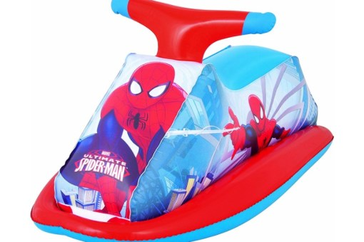 Spiderman Montable acuático - Wiwi Inflables de Mayoreo