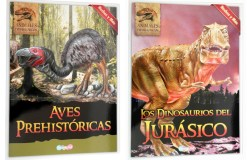Comprar Enciclopedia Animales Prehistóricos 4 tomos - Wiwi Libros infantiles