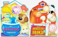 Libros Rima Animalitos II 4 tomos - Wiwi Libros infantiles