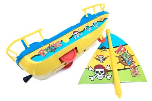 Barco Pirata de Cuerda - Wiwi Juguetes de Mayoreo