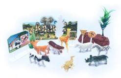 Maqueta de la Selva paquete con 16 piezas – Wiwi mayoreo